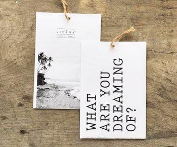 זוג מעטפות ריח 'dreaming'
