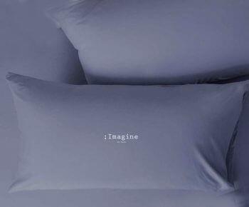 ציפית לכרית מטר Imagine כחול מעושן