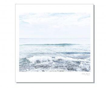 פוסטר צבעוני 30/30 חוף #7