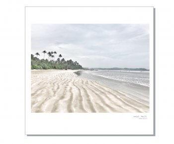 פוסטר צבעוני 30/30 חוף סרילנקה #14