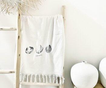 מגבת רחצה בייסיק לבן